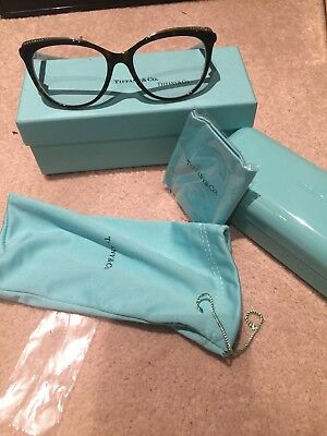 TIFFANY   CO Brown Blue Diamante Glasses TF 2120-B Prescription ... 3d743ceb24
