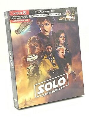 Solo: A Star Wars Story (4K UHD+Blu-ray+Digital, 2018; Target Exclusive Digibook