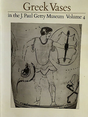 Greek Vases In The J Paul Getty Museum Vol. 4  - classic reference