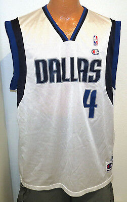19f34d574 vtg MICHAEL FINLEY  4 Mavs Champion Jersey sz 44 Dallas 90s 00s nba  Mavericks