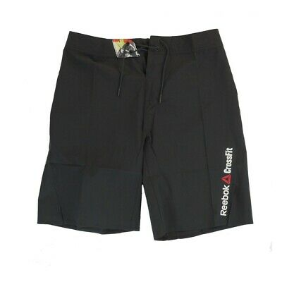 Reebok  Men's CrossFit  Bonded Gusset Core ii Training (Black) Shorts