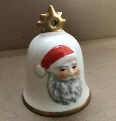 1985 Goebel Hummel Annual Christmas Bell Ornament Excellent Condition W Germany