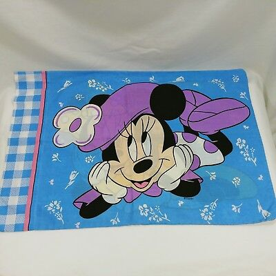 Disney Mini Mouse Pillow Case Standard Pillow Size USA Made