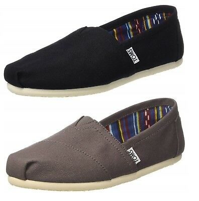 0a453ab8c35 TOMS WOMEN S CLASSIC Canvas Shoes-Black or Ash -  24.99