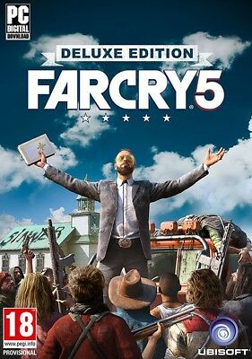 Far Cry 5 PC Deluxe Edition - Gioco Italiano Originale