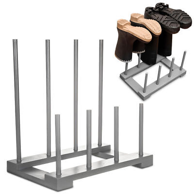 Wellington Boot Holder Rack/Walking Boot Stand-Holds 4 Pairs Shoes Welly Muddy