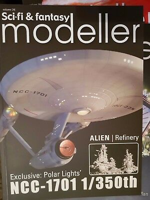 SCI-FI & FANTASY MODELLER No 26 STAR TREK