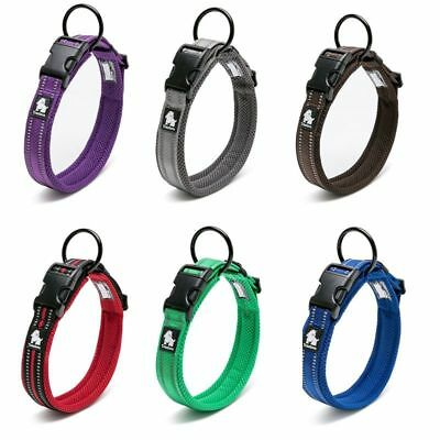Adjustable Nylon Pet Collar Comfortable Mesh Necklace For Dog Training Outdoor