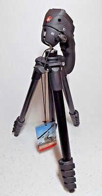 Used Manfrotto Compact Series Action Aluminum Tripod Black