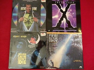 LOT 4: MARTIANS GO HOME - X Files - Dead Men Don't Die - FIRE IN THE SKY $19.99