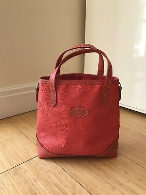 1a1c2a30192a MULBERRY RED LEATHER Small Tote - £70.00