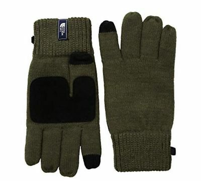 The North Face Salty Dog Etip Knit Gloves S/M Unisex Adult Green Snowboard NWT