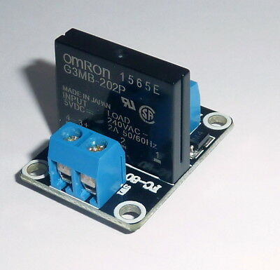 5V 1 Channel Solid State Relay SSR  240V 2A  Module for Arduino RaspberryPi etc.