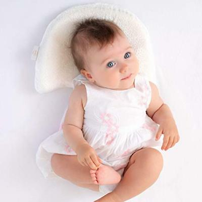 Foam Pillow Baby Head Shaping Memory Soft Organic Cotton Hypoallergenic Bamboo