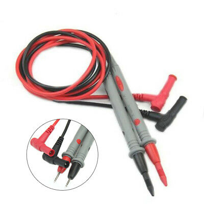 2x Universal Multimeter Multi Meter Test Lead Probe Wire Pen Cable 1000V 20A/10A