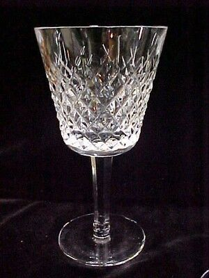 "Waterford Ireland Crystal ALANA CLARET 5 7/8"" WINE GLASS GOBLET ~EXCELLENT"