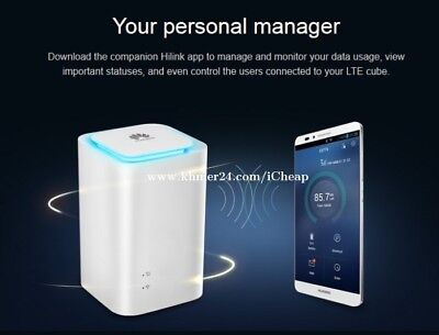 🔓UNLOCKED Huawei E5180 4G LTE MiFi home broadband wifi router 150Mbps 32 device