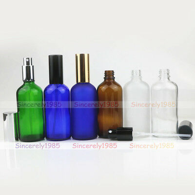 10ml ~ 100ml Frosted Glass Bottles With Fine Mist Spray For Aromatherapy Perfume