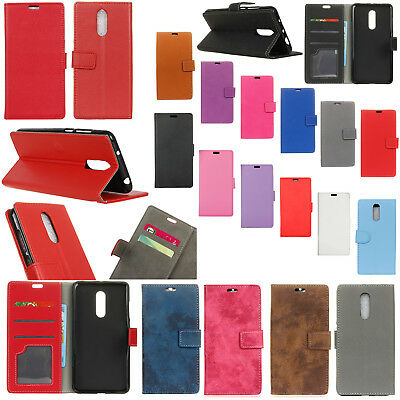 KS For Alcatel 3 5052 5052Y 5052D (2018) Wallet ID Card Leather Case Cover Skin