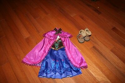 Dress Outfit fits 18 inch American Girl Dolls Frozen Princess Anna