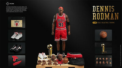 d2166aa6c1b288 The One 1 6 NBA Superstar The Worm Dennis Rodman Hot Action Figure Toys In