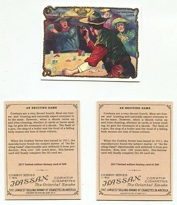 T53 Cowboy Series Hassan Tobacco Card - An Exciting Game