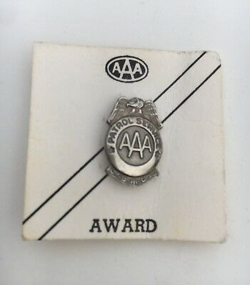 AAA Small Safety Patrol Pin - Mint Condition