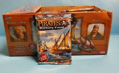 WIZKIDS PIRATES Pirates of the Barbary Coast 1x Booster Pack (SINGLE BOOSTER)