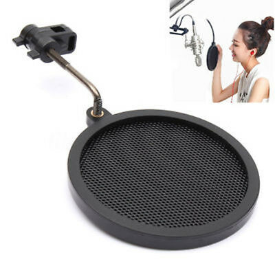 Nice Dual Layer Studio Microphone Mic Wind Screen Pop Filter Mask Shied Record