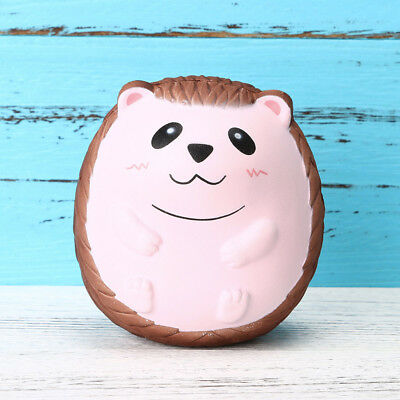 """Slow Rising Toy, 4"""" Super Jumbo Hedgehog Squishy Cream Scented Cute for Kids US"""