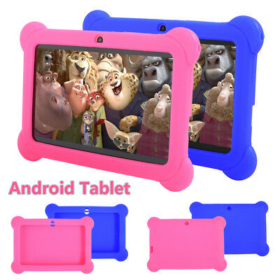 7'' inch Quad Core HD Tablet 16G for Kids Android 4.4 KitKat Dual Camera WiFi