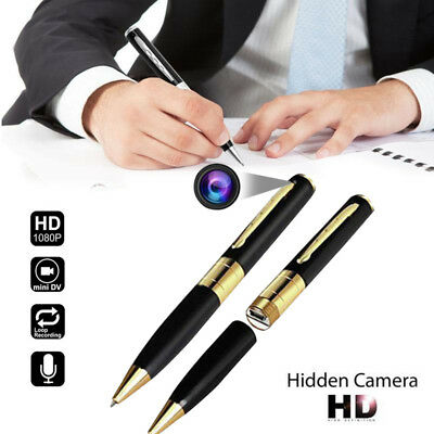 Mini Spy Camera Pen USB Hidden DVR Camcorder Video Audio Recorder Full HD Noted