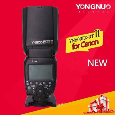 Yongnuo YN600EX-RT II TTL Wireless Speedlite Flash for Canon 650D 60D YNE3-RT