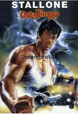 Over the Top DVD Sylvester Stallone New Sealed Australia All Regions