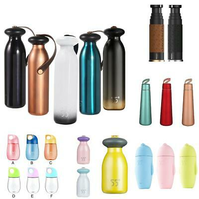 Various Cute Portable Travel Mug Water Thermos Vacuum Flask Thermal Cup Bottle