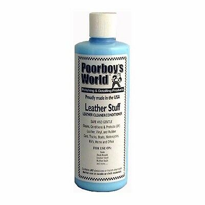 PoorBoys Poorboy`s Leather Stuff Conditioner & Protectant 16oz (473ml)