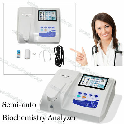 CONTEC BC300 Semi-auto Biochemistry Analyzer with Open reagent,LCD Touch Screen