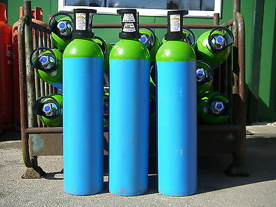 Argon Lite (5% Mix) Gas Cylinder, 20litre size, 200 bar fill* for Mig Welding.