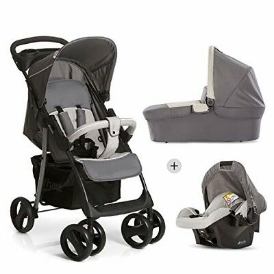 Hauck Shopper SLX Trio Set/Kombi 3 in 1 Kinderwagen/Babyschale/Sportwagen, Gr. 0