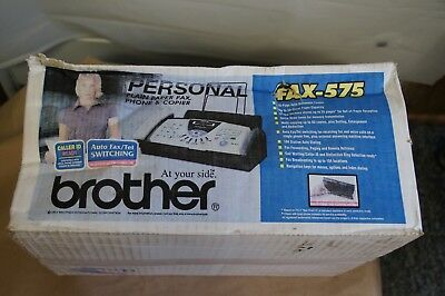 Brother Fax-575 Plain Paper Fax, Phone & Copier - New (Other) - Damaged Box