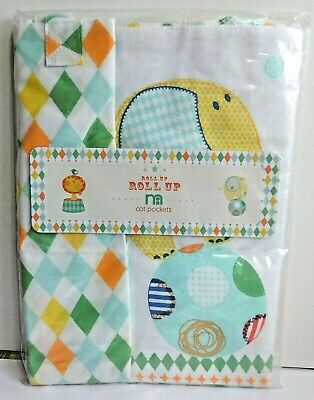 New baby crib cot bed side hanging storage bag MOTHERCARE nappy organiser storag