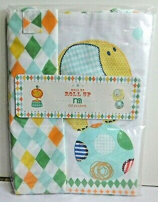 New with tags Mothercare Cot pockets roll up roll up design mothercare bedding