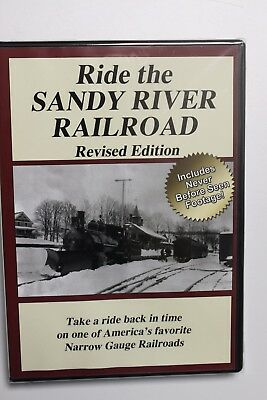 """Ride the Sandy River Railroad DVD """"Revised"""""""