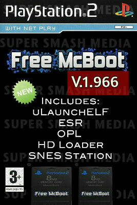 Free Mcboot FMCB 1.966 Sony Playstation 2