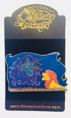Lion King LE 100 Simba Mufasa Mystical Figures Disney Auctions Pin #39096