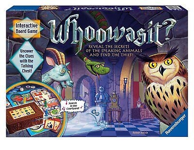 Whoowasit Interactive Board Game Ravensburger 2011 Complete
