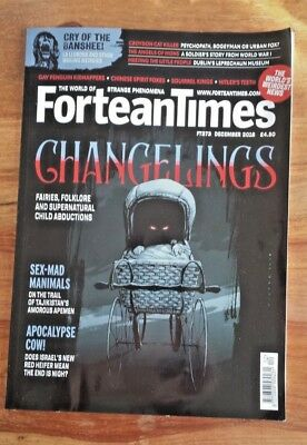 FORTEAN TIMES - Issue # 373 December 2018 - Changlings - Banshee - UFO