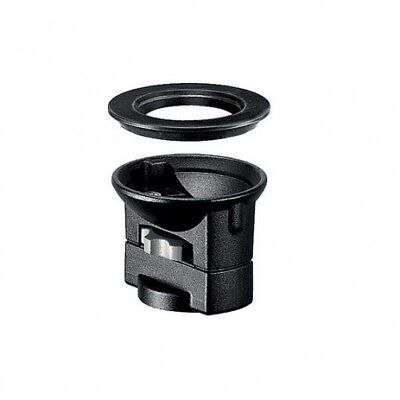 Manfrotto 325N Bowl Adapter - to connect a 75 or 100mm half bowl