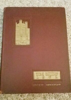 "1962 50th Anniversary Loyola University College ""WOLF"" Yearbook New Orleans LA"