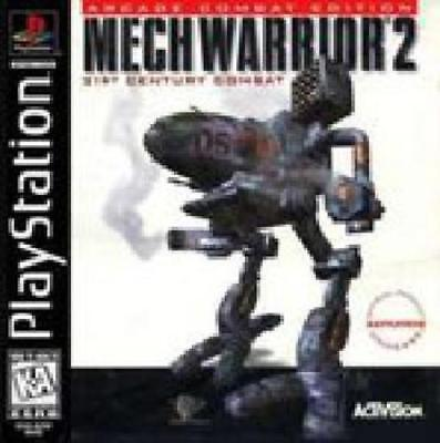 Mechwarrior 2 Playstation Game is Loose *SEE DETAILS* FAST SHIP!
